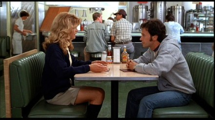 Meg Ryan and Billy Crystal in When Harry Met Sally (1989)
