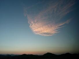 Mecca's Sunset